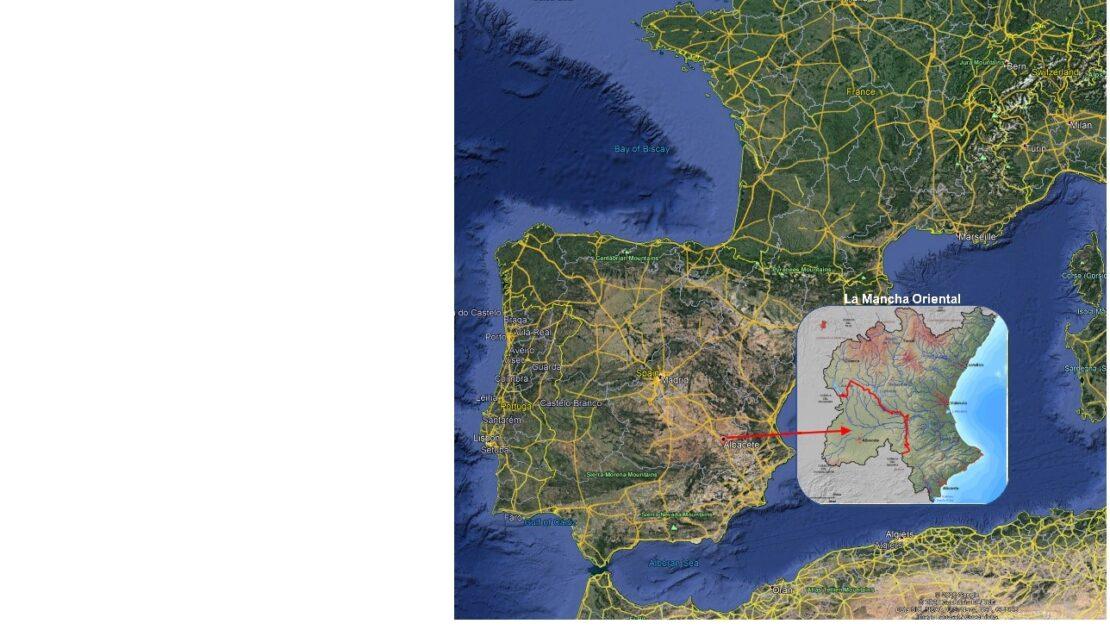 La-Mancha-Oriental-map-JCRMO-irrigation-COALA-project